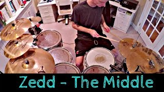 Download Lagu Zedd - The Middle ft. Maren Morris (Drum Cover) Gratis STAFABAND