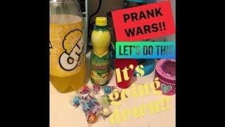 PRANK WARS ON MY KIDS!!
