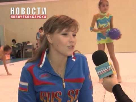 «Детки в эфире» - Таисия Пелепейченко встретилась со сборной Чувашии по художественной гимнастике