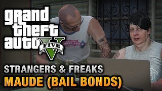GTA 5 - Maude(Bail Bonds) [Wanted: Alive or Alive Achievement / Trophy]