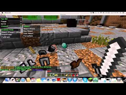 Minecraft- Survival Games fun with Nodus
