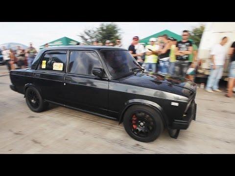 """ВАЗ 2107 Турбо 300л.с. Тюнинг: """"Amag"""" (гонки на кубок Турбофлай)"""