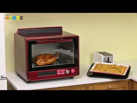 DIY Miniature STEAM OVEN ミニチュアスチームオーブンレンジ作り
