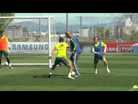 UCL | Manchester City vs Real Madrid: First training session