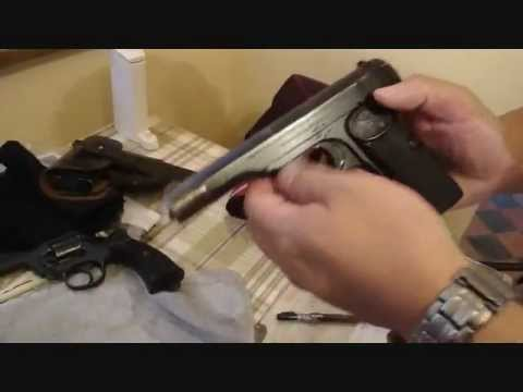 Antique, Belgium made Browning FN 1922 (Semi-Auto  .380 ACP) intro by Tim Fan