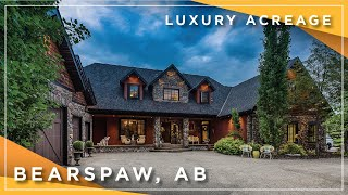 Calgary Real Estate Property Video Tour Production - 16 Woodland Rise, Bearspaw