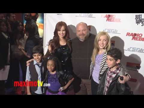 "Cast of JESSIE at ""Radio Rebel"" World Premiere Arrivals with Debby Ryan"