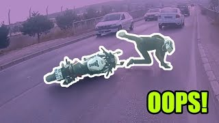 Ultimate MOTORCYCLE Crashes - 2019 #22