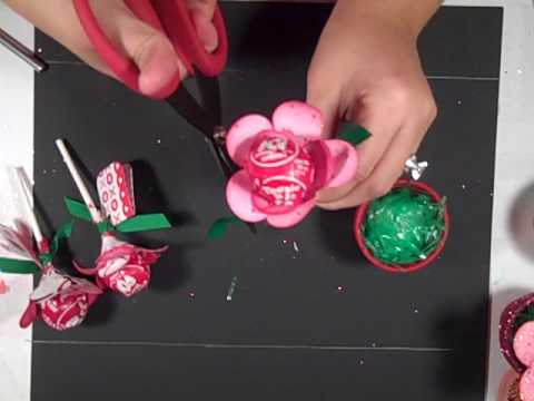 Mini Flower Pot- Valentine's Day or Party Favor