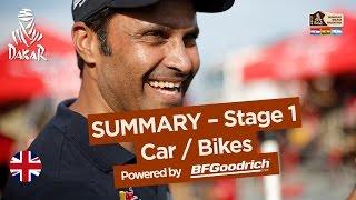 Stage 1 Summary - Car/Bike - Dakar 2017