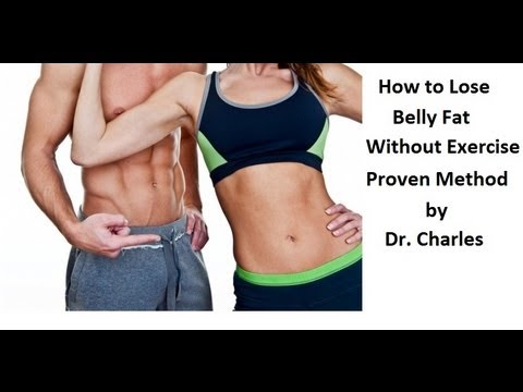 How to Lose Belly Fat FAST Without Exercise - YouTube