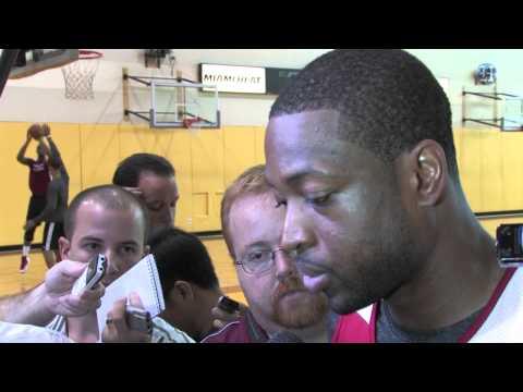 Miami Heat's Dwyane Wade talks Eastern Conference Finals