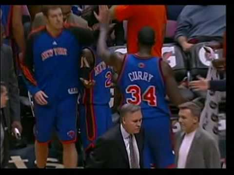 Nate Robinson shoots on wrong basket, D'Antoni snaps Video