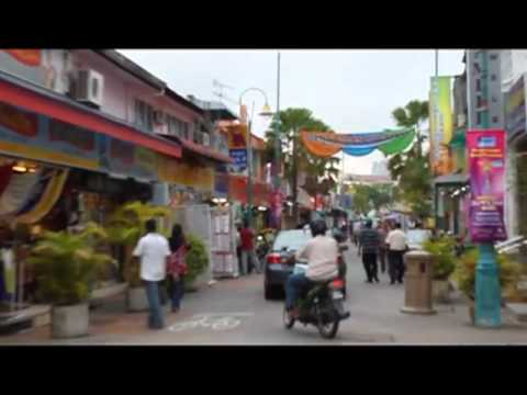 Little India Neighborhood in George Town, Penang, Malaysia