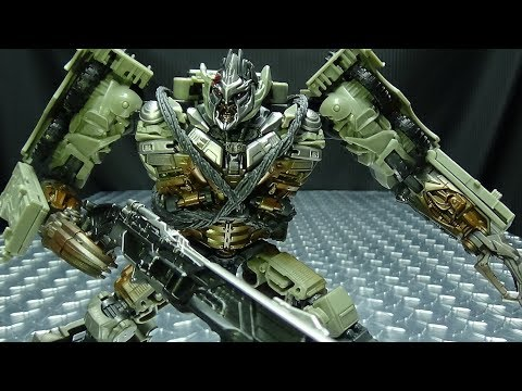 Studio Series Leader MEGATRON: EmGo's Transformers Reviews N' Stuff