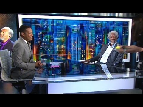 Morgan Freeman on race...and his birthday