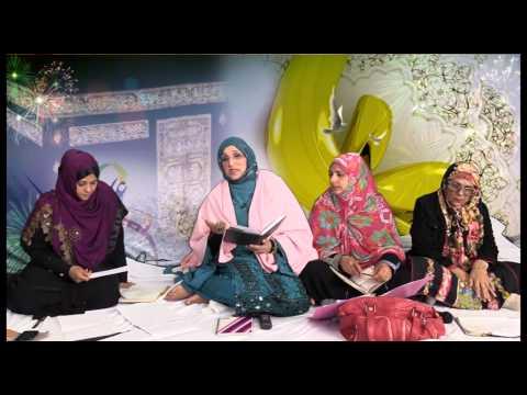 Bham Ladies Jashan e Molod e Kaba Part1 01 05 15  NIGHAT SISTER