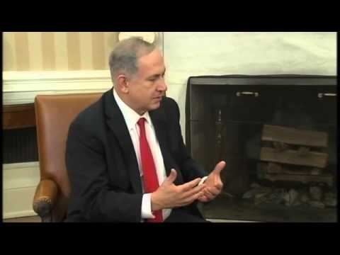 RAW: Obama Talks Peace Plan with Israeli PM Netanyahu