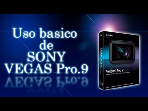 Uso Básico de Sony Vegas pro 9 PARTE 1/3