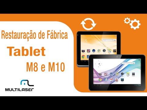 Multilaser  Suporte  Tablet  Restauração de fábrica M8 e M10