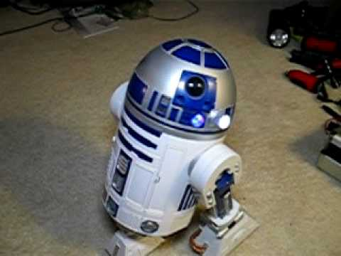 r2d2 voice activated robot manual