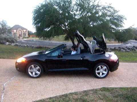 2007 Mitsubishi Eclipse Spyder Convertible Youtube