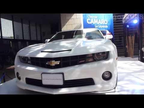 Chevrolet Camaro SS 2014 video venta versión Colombia