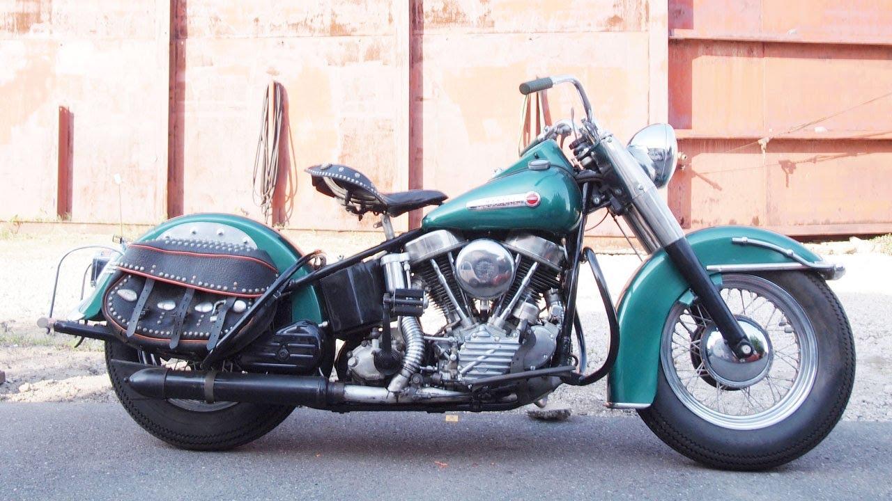 Harley Davidson: 1949 FL HARLEY DAVIDSON PANHEAD