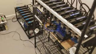 Mining rig room construction