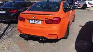 2018 BMW M3 Competition - Startup Sound