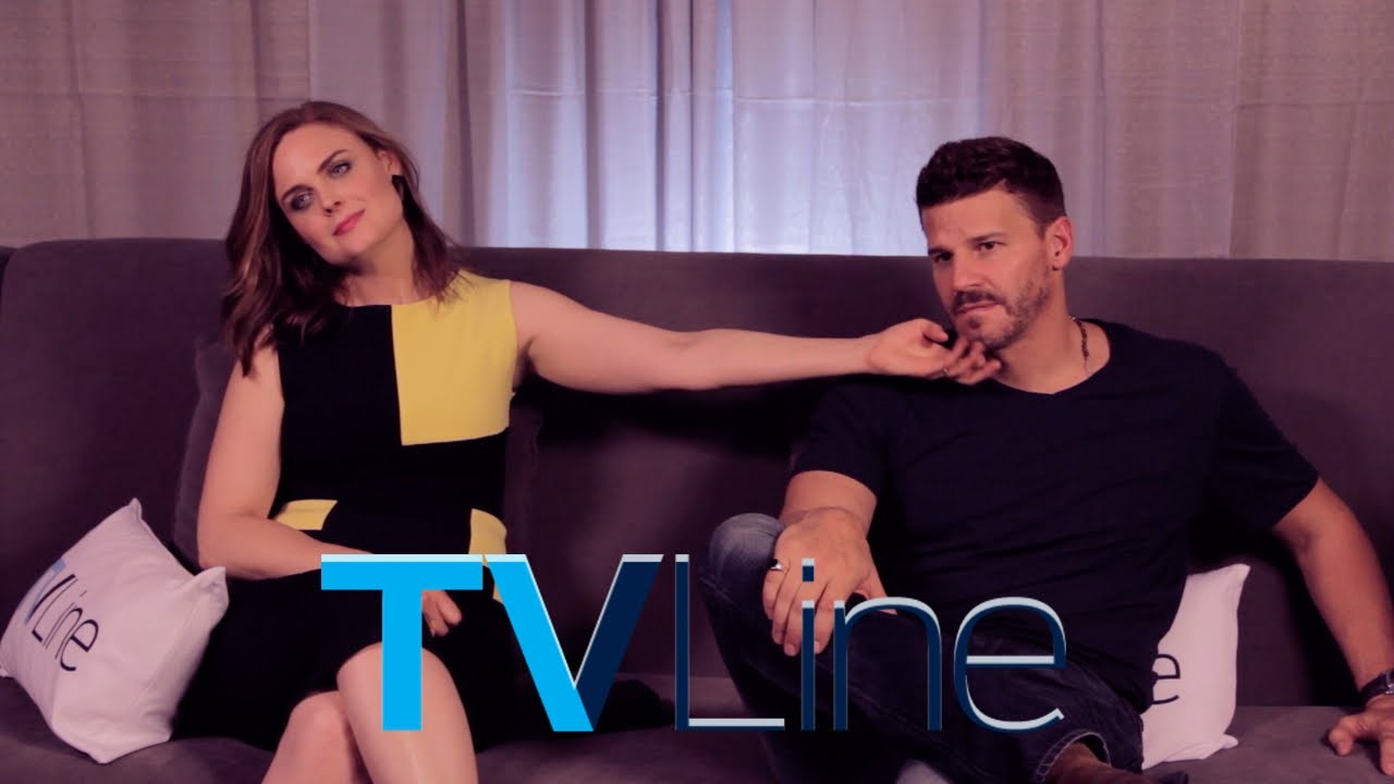 "David Boreanaz And Emily Deschanel 2014 ""Bones"" Star..."