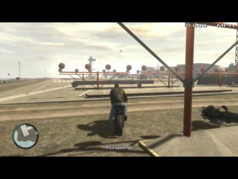 GTA IV Motorcycle Mod Review- Suzuki. Drag Bike. Aprilla Motorcycle. BMW