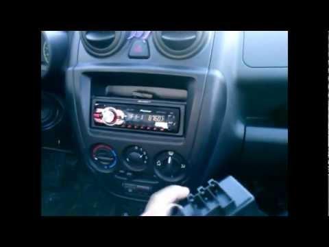 Lada Granta - установка акустической системы