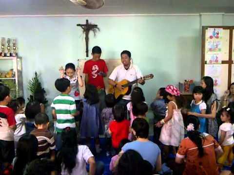 lagu rohani anak sekolah minggu - aduh senangnya naik kereta