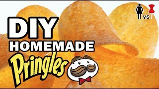 DIY Homemade Pringles - Corinne vs Pin