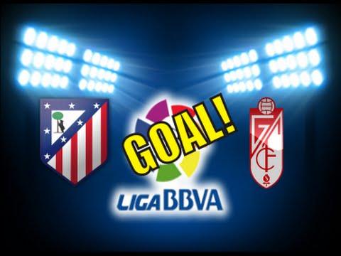 ATLETICO DE MADRID 1-0 GRANADA GOAL KOKE LIGA BBVA 2015 2016 17 04 2016