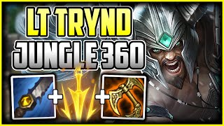360CS Trydamere Jungle | Best Build & Runes - How to Play Tryndamere League of Legends