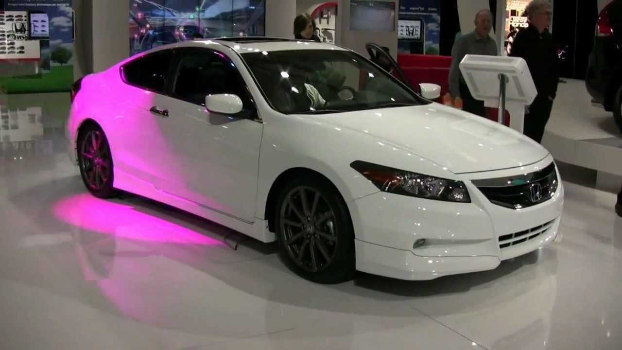2012 Honda Accord Coupe V6 Exterior and Interior at 2012 ...