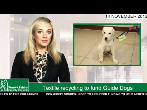 Textile recycling to fund Guide Dogs