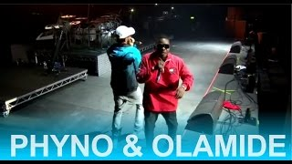 PHYNO & OLAMIDE PERFORMANCE at One Africa Music Fest 2017