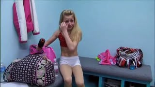 Dance Moms - Chloe Cries Because Abby Yells At Her For Having Her Hair Down (S1,E6)
