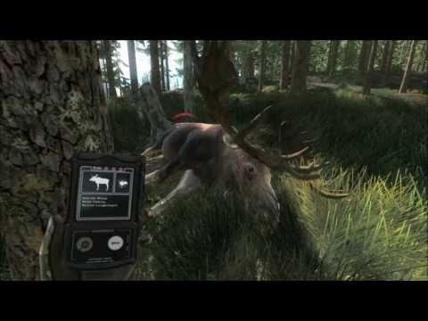 The Hunter 2013 PC Moose Attacks 1080 HD