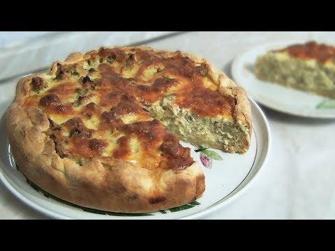 Пирог с цветной капустой и сыром. Простой и вкусный рецепт