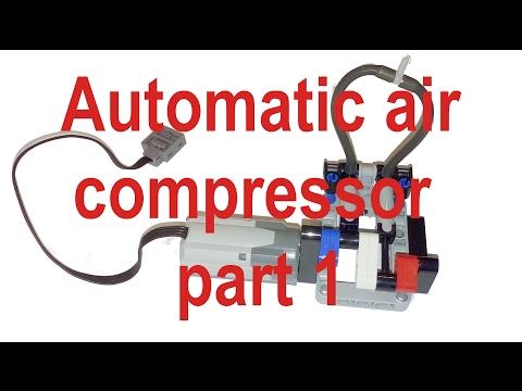 896gerards tutorials 03   Building an automatic Lego Technic air compressor PART 1