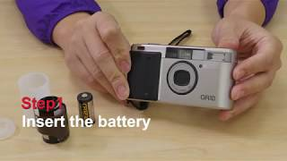 Simple 4 Steps!! How to insert film into Ricoh GR10 35mm Film Camera