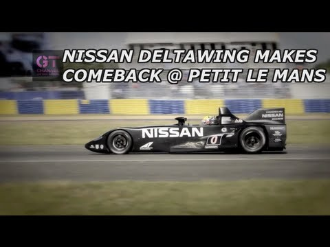Nissan DeltaWing to race at Petit Le Mans - ALMS