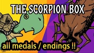 The Scorpion Box Walkthrough, All Medals All Endings, 100% Full Video Help