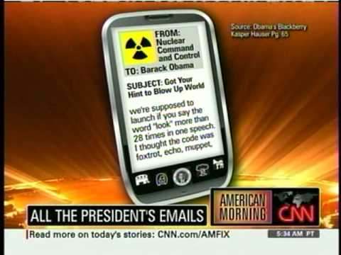 Obama's Blackberry on CNN- Kasper Hauser