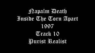 Watch Napalm Death Purist Realist video