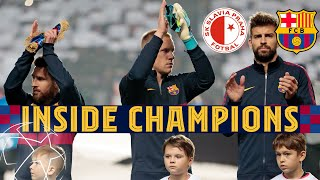 INSIDE CHAMPIONS | Slavia Prague 1-2 Barça, from behind the scenes